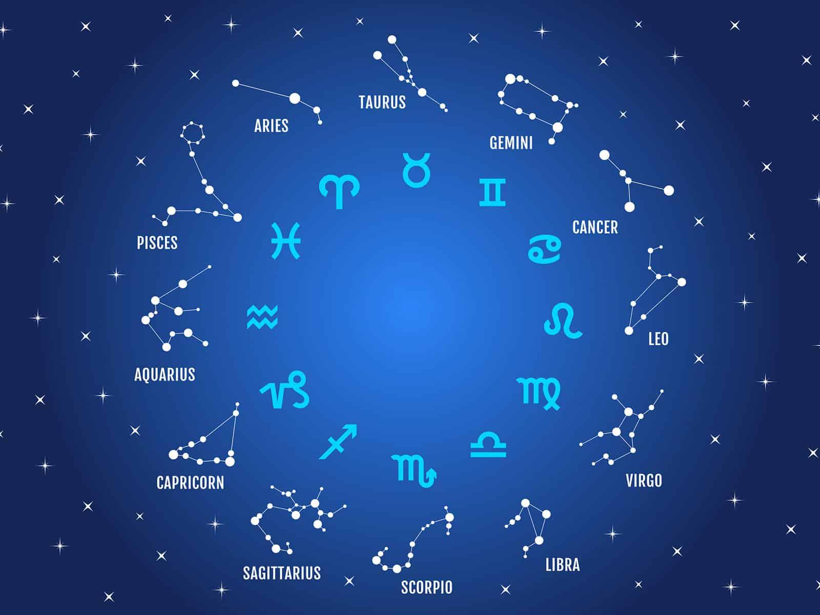 On dénombre 12 signes astrologiques
