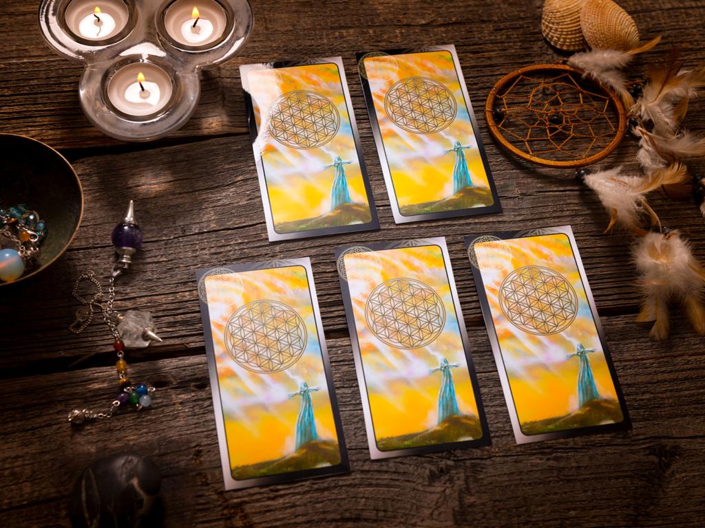 Les cartes du tarot indiquent une énergie