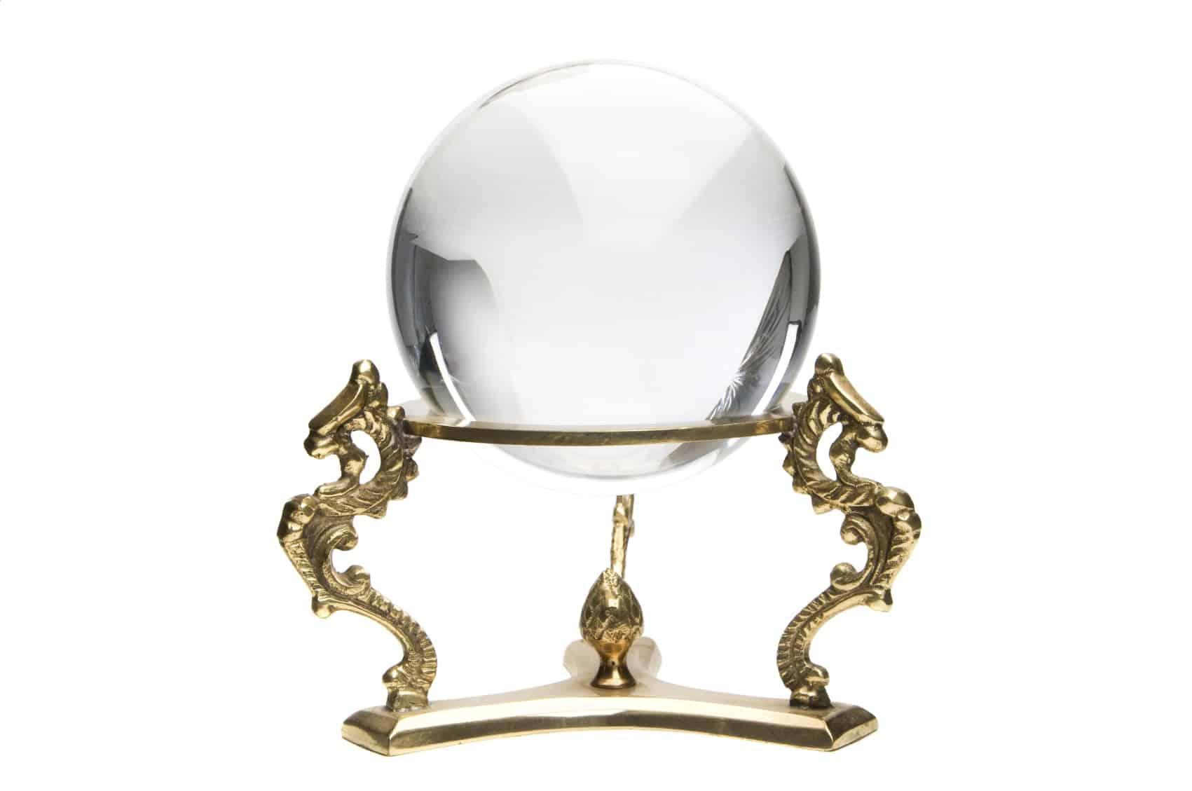 Art divinatoire-Boule de cristal